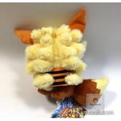Pokemon Store Okinawa 2017 Renewal Opening Poncho Eevee Arcanine Shisa Plush Toy (Version #2 Mouth Closed)