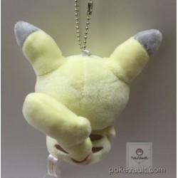 Pokemon Center 2017 Dessert Plate Campaign Pikachu Marzipan Mascot Plush Keychain