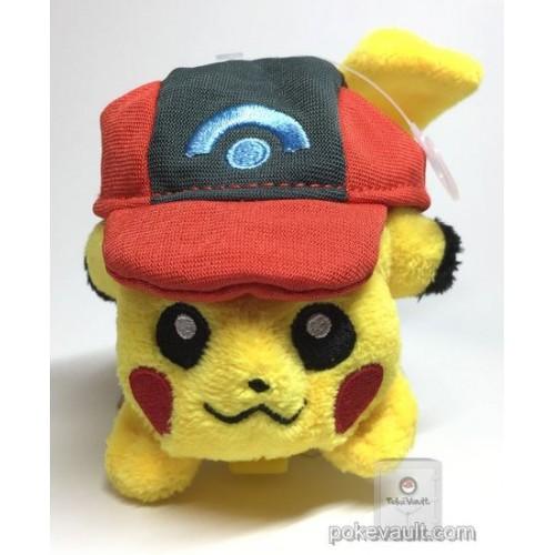 34fc1eded97 ... Pokemon Center 2017 Ash Hat Pikachu Clip On Beanbag Plush Toy (Version   3 Sinnoh