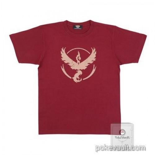 Pokemon Center Online 2017 Pokemon GO Team Valor Moltres Adult Tshirt (Size Large)