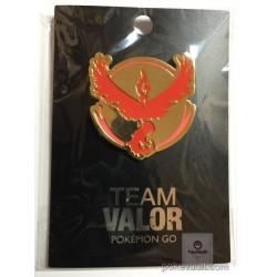 Pokemon Center Online 2017 Pokemon GO Team Valor Moltres Pin Badge