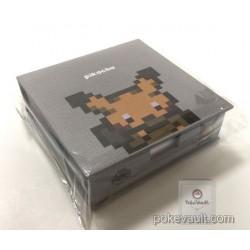 Pokemon Center 2017 Dot Sprite Campaign Pikachu Boxed Memo Pad