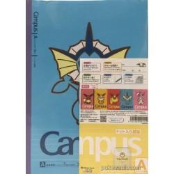 Pokemon Center 2017 Eevee Collection Campaign Eevee Jolteon Flareon Vaporeon Sylveon Set Of 5 Notebooks (Version A)