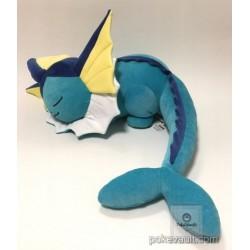 Pokemon Center 2017 Eevee Collection Campaign Vaporeon Sleeping Large Size Plush Toy