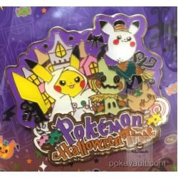 Pokemon Center 2017 Pokemon Halloween Time Campaign Mimikyu Pikachu Pin Badge