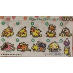 Pokemon Center 2017 Pokemon Yurutto Campaign Dedenne Acrylic Plastic Keychain (Version #7)