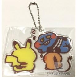 Pokemon Center 2017 Pokemon Yurutto Campaign RANDOM Acrylic Plastic Keychain