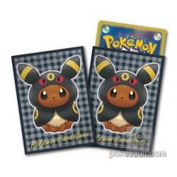 Pokemon Center 2017 Eevee Poncho Campaign Umbreon Set Of 64 Deck Sleeves