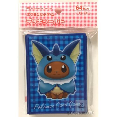 Pokemon Center 2017 Eevee Poncho Campaign Vaporeon Set Of 64 Deck Sleeves