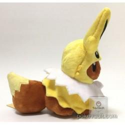 Pokemon Center 2017 Eevee Poncho Campaign Jolteon Plush Toy