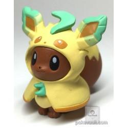 Pokemon Center 2017 Eevee Poncho Campaign Leafeon Gashapon Figure