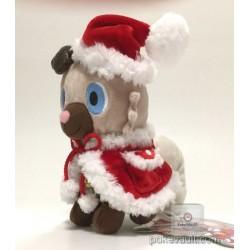 Pokemon Center 2017 Christmas Campaign Rockruff Plush Toy