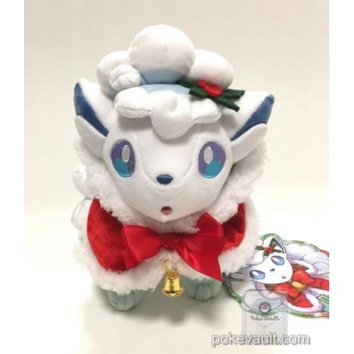 Pokemon Center 2017 Christmas Campaign Alolan Vulpix Plush Toy