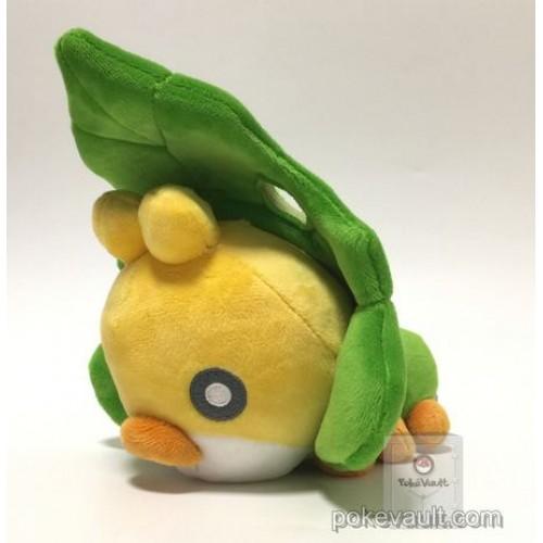 Pokemon 2017 San-Ei All Star Collection Sewaddle Plush Toy