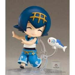Pokemon Center Online 2017 Lana Nendoroid Figure (Pokemon Center Dive Ball Version)