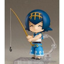Pokemon GoodSmile Online 2017 Lana Nendoroid Figure (GoodSmile Water Z-Crystal Motif Stand Version)