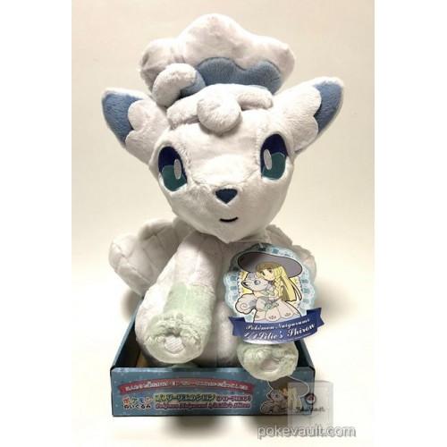 Pokemon 2017 Takara Tomy Lillie's Alolan Vulpix Lifesize Plush Toy