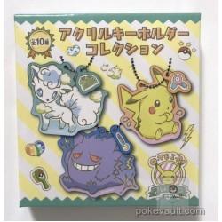 Pokemon Center 2018 Oteire Please Campaign Rowlet Acrylic Plastic Keychain (Version #2)