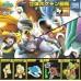 Pokemon 2010 Diamond & Pearl Zukan 1/40 Scale Mini Figure Set Movie Version Shiny Suicune Entei Raikou  (CHOOSE ONE)
