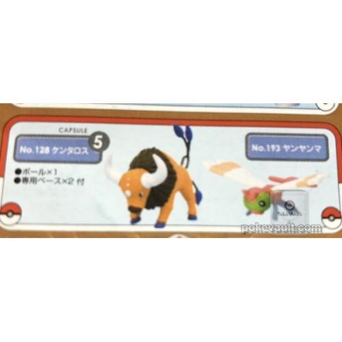 Pokemon 2006 Zukan 1/40 Scale Mini Figure Set #6 Tauros Yanma
