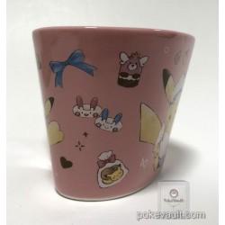 Pokemon Center 2018 Pikachu's Sweet Treats Valentine's Day Campaign Pikachu Heart Shaped Ceramic Mug
