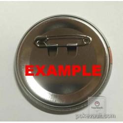 Pokemon Center 2018 Sinnoh Button Collection Professor Rowan Buneary Large Size Metal Button