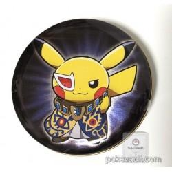 Pokemon Center 2018 Rainbow Rocket Campaign Team Plasma Ghetsis Pikachu Reshiram Zekrom Candy Collector Tin