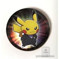 Pokemon Center 2018 Rainbow Rocket Campaign Team Rocket Giovanni Pikachu Mewtwo Candy Collector Tin