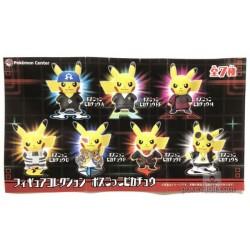 Pokemon Center 2018 Rainbow Rocket Campaign Team Galactic Cyrus Pikachu Gashapon Figure