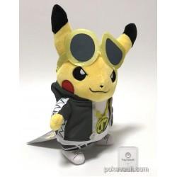 Pokemon Center 2018 Rainbow Rocket Campaign Team Skull Guzma Pikachu Plush Toy