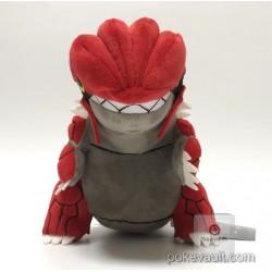 Pokemon Center 2018 Rainbow Rocket Campaign Team Magma's Groudon Plush Toy