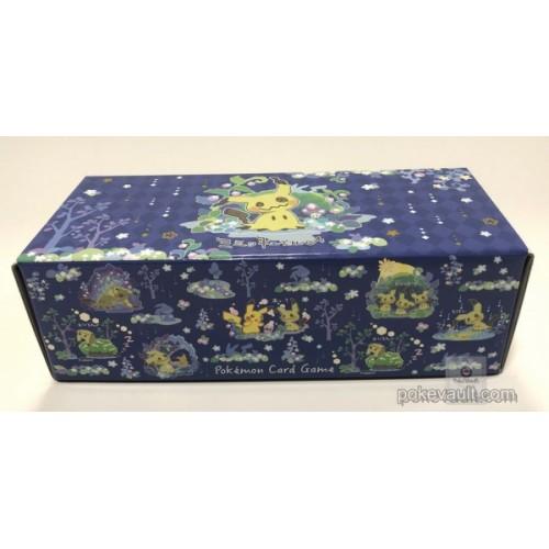 Pokemon Center 2018 It's Mimikyu Campaign Mimikyu Pikachu Large Size Cardboard Storage Box (EMPTY)