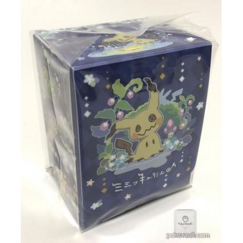 Pokemon Center 2018 It's Mimikyu Campaign Mimikyu Pikachu Large Size Deck Box