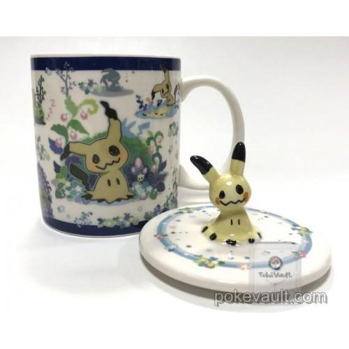 Pokemon Center 2018 It's Mimikyu Campaign Mimikyu Pikachu Ceramic Mug With Cover
