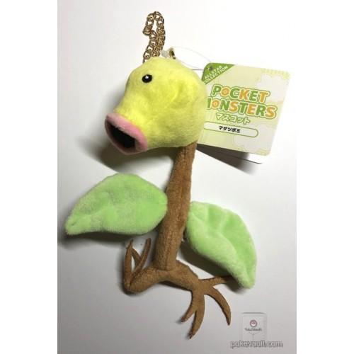 Pokemon 2018 San-Ei All Star Collection Bellsprout Mascot Plush Keychain