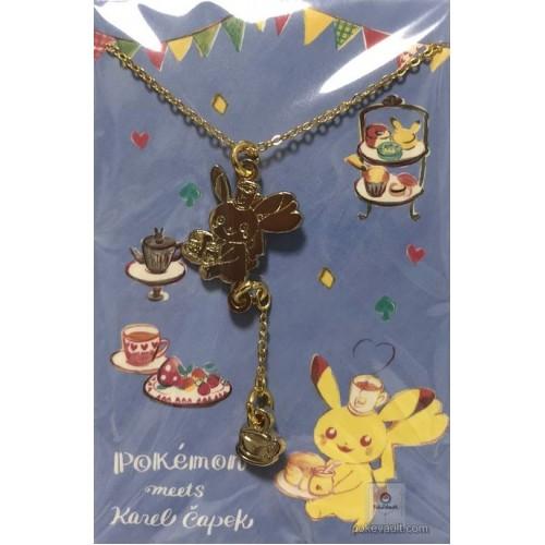 Pokemon Center 2018 Pokemon Meets Karel Capek Campaign Pikachu Pendant Necklace (Pikachu Version)