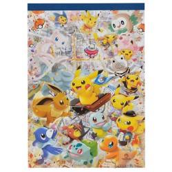 Pokemon Center Tokyo DX 2018 Grand Opening Pikaachu Eevee Mew & Friends Memo Pad