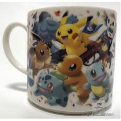 Pokemon Center Tokyo DX 2018 Grand Opening Pikachu Mew Eevee & Friends Ceramic Mug