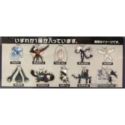 Pokemon Center 2018 Fall In The Ultra Beast Campaign Buzzwole Acrylic Plastic Keychain (Version #2)