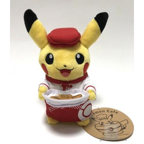 Pokemon Center Tokyo DX Pokemon Cafe 2018 Grand Opening Pikachu Plush Toy (Waitress Version)