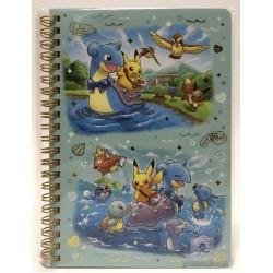 Pokemon Center 2018 Riding With Lapras Campaign Lapras Pikachu Dratini Raichu & Friends Spiral Notebook