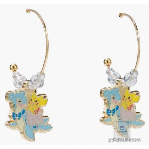 Pokemon Center 2018 Riding With Lapras Campaign Lapras Pikachu Earrings