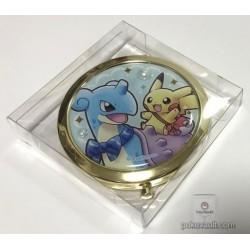 Pokemon Center 2018 Riding Lapras Campaign Lapras Pikachu Small Compact Mirror