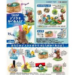 Pokemon Center 2018 Re-Ment Desktop Figure Hide & Seek On Your Desk Series Dugtrio (Inkan Stamp Stand)