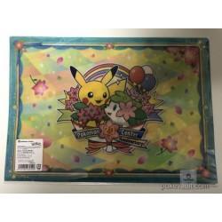 Pokemon Center 2018 20th Anniversary Campaign #1 Pikachu Litten Fennekin Snivy & Friends A4 Size Clear File Folder
