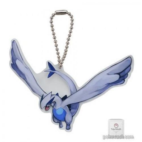 Pokemon Center 2018 Lugia Acrylic Plastic Character Keychain