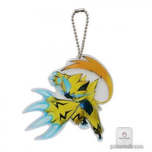 Pokemon Center 2018 Zeraora Acrylic Plastic Character Keychain