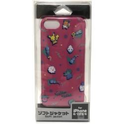Pokemon Center 2018 Saiko Soda Campaign Pikachu Eevee & Friends iPhone 6/6s/7/8 Mobile Phone Soft Cover
