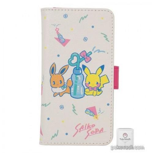 Pokemon Center 2018 Saiko Soda Campaign Pikachu Eevee Multi Smart Phone Cover