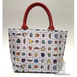 Pokemon Center 2018 Pokedolls Campaign Pikachu Mew Bulbasaur & Friends Small Tote Bag